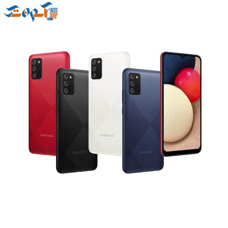 گوشی موبایل سامسونگ مدل Galaxy A02s  ظرفیت 32 و رم 3 گیگابایت