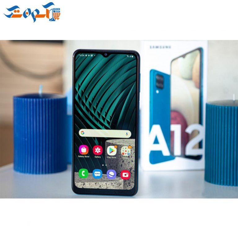 گوشی موبایل سامسونگ مدل A12 ظرفیت 64 و رم 4 گیگابایت