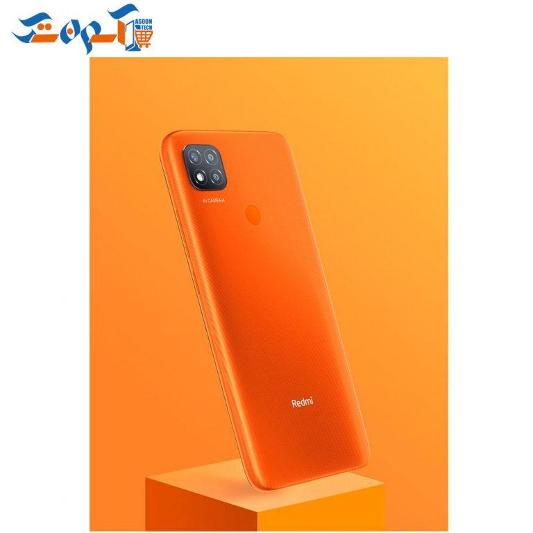 گوشی موبایل شیائومی مدل Redmi 9C ظرفیت 64 و رم 3 گیگابایت