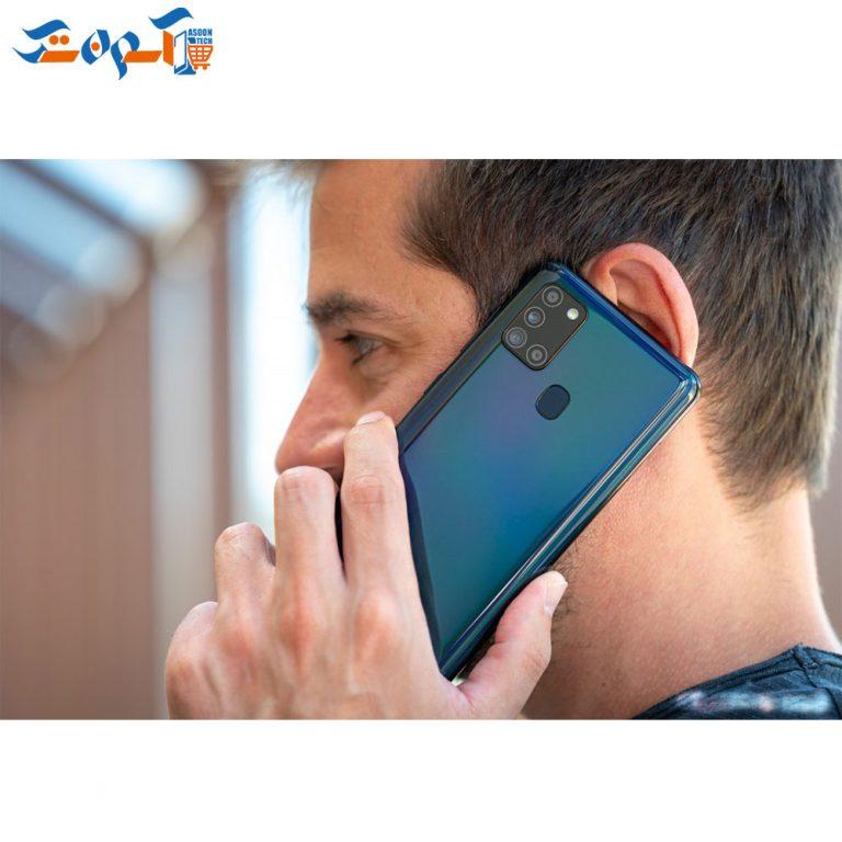 گوشی موبایل سامسونگ مدل A21s ظرفیت 128 و رم 4 گیگابایت