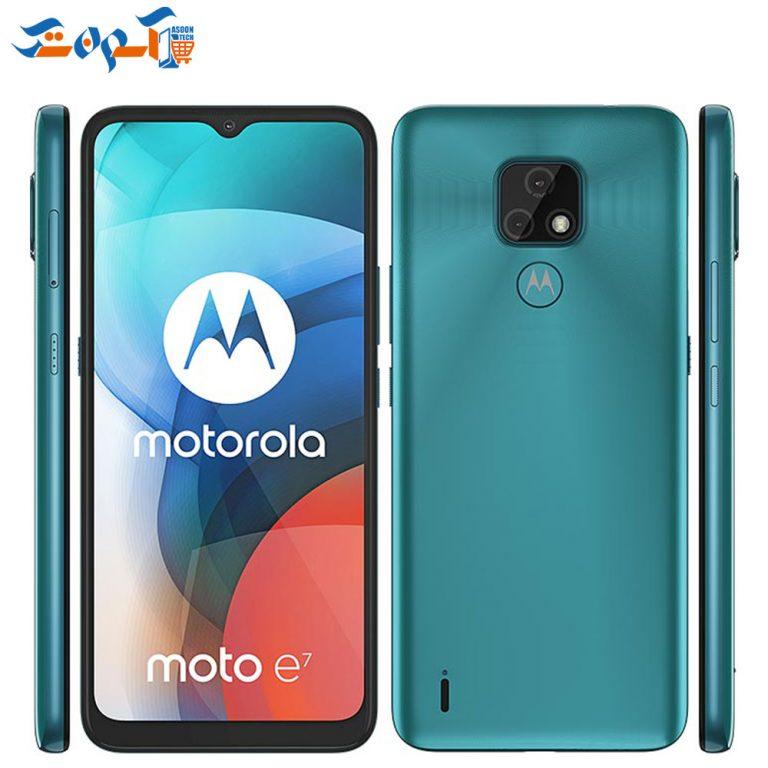 گوشی موبایل موتورولا مدل Moto E7  ظرفیت 64 و رم 4 گیگابایت