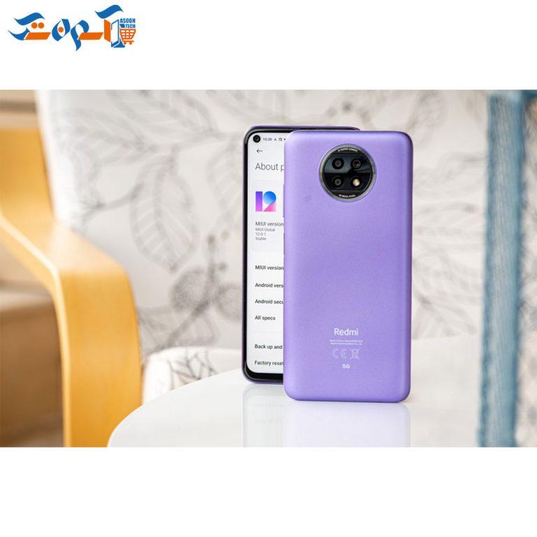 گوشی موبایل شیائومی مدل redmi note 9T ظرفیت 128 و رم 4 گیگابایت